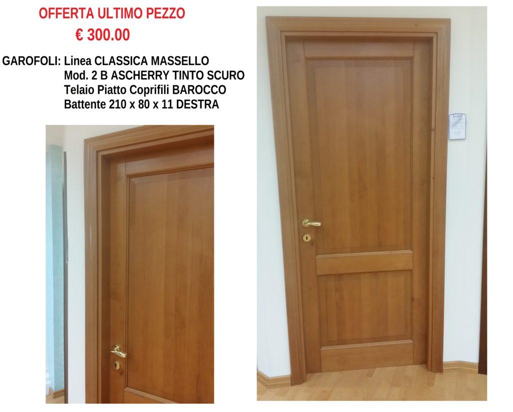 GAROFOLI CLASSICA MASSELLO ASCHERRY TINTO SCURO 2B