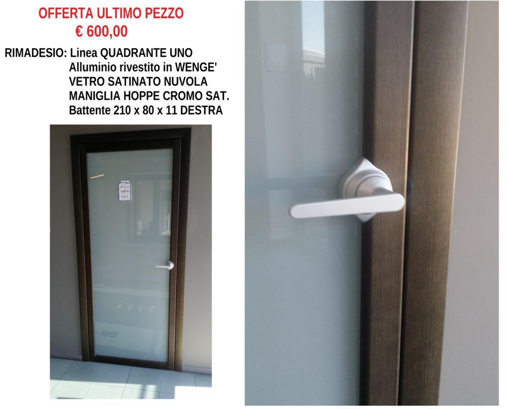 RIMADESIO-QUADRANTE-UNO-WENGE-VETRO-NUVOLA-MANIGLIA-HOPPE